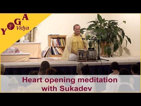 Heart opening meditation with Sukadev