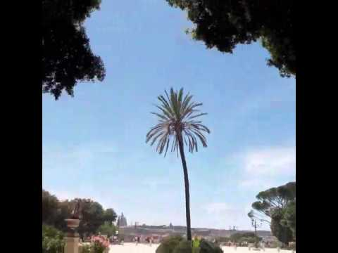 Roma Terrazza Del Pincio Youtube
