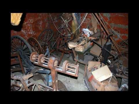 Antiques in Ohio  .. Used Industrial Equipment  ..  Spinning Wheels  ..  Al Zinn