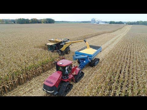 Miller Farms 2017 Corn & Soybean Harvest