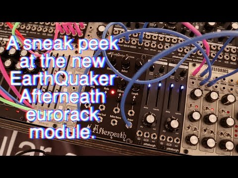 EarthQuaker Devices unveils Eurorack version of Afterneath Reverb pedal