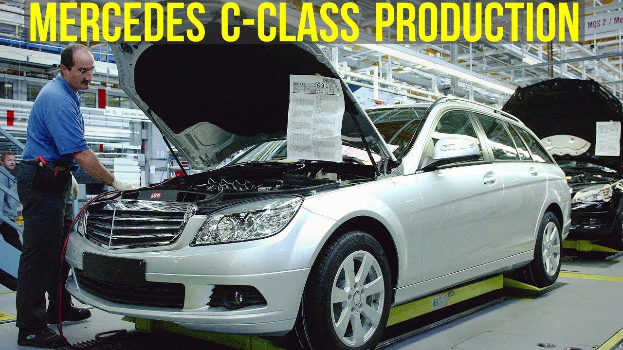 Mercedes-Benz C-Class W204 Production