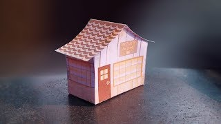 beautiful paper house | How to make an Origami House | Beautiful and colourful Dreamhouse