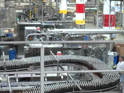 Anheuser Busch Brewery Beer Production Line St Louis