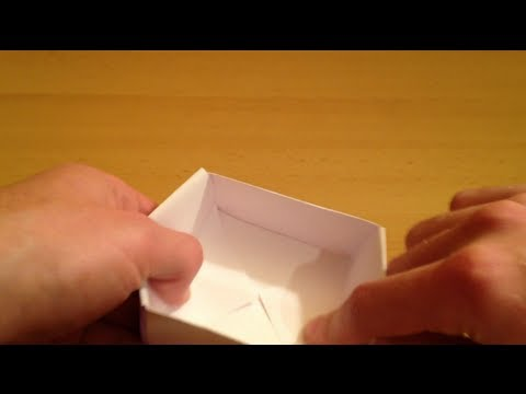 papierhut falten hut basteln mit papier origami bas doovi. Black Bedroom Furniture Sets. Home Design Ideas