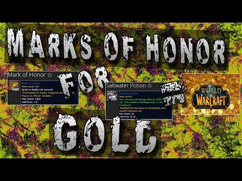 Trade Marks of Honor for Gold - Legion PvP Vendor Location