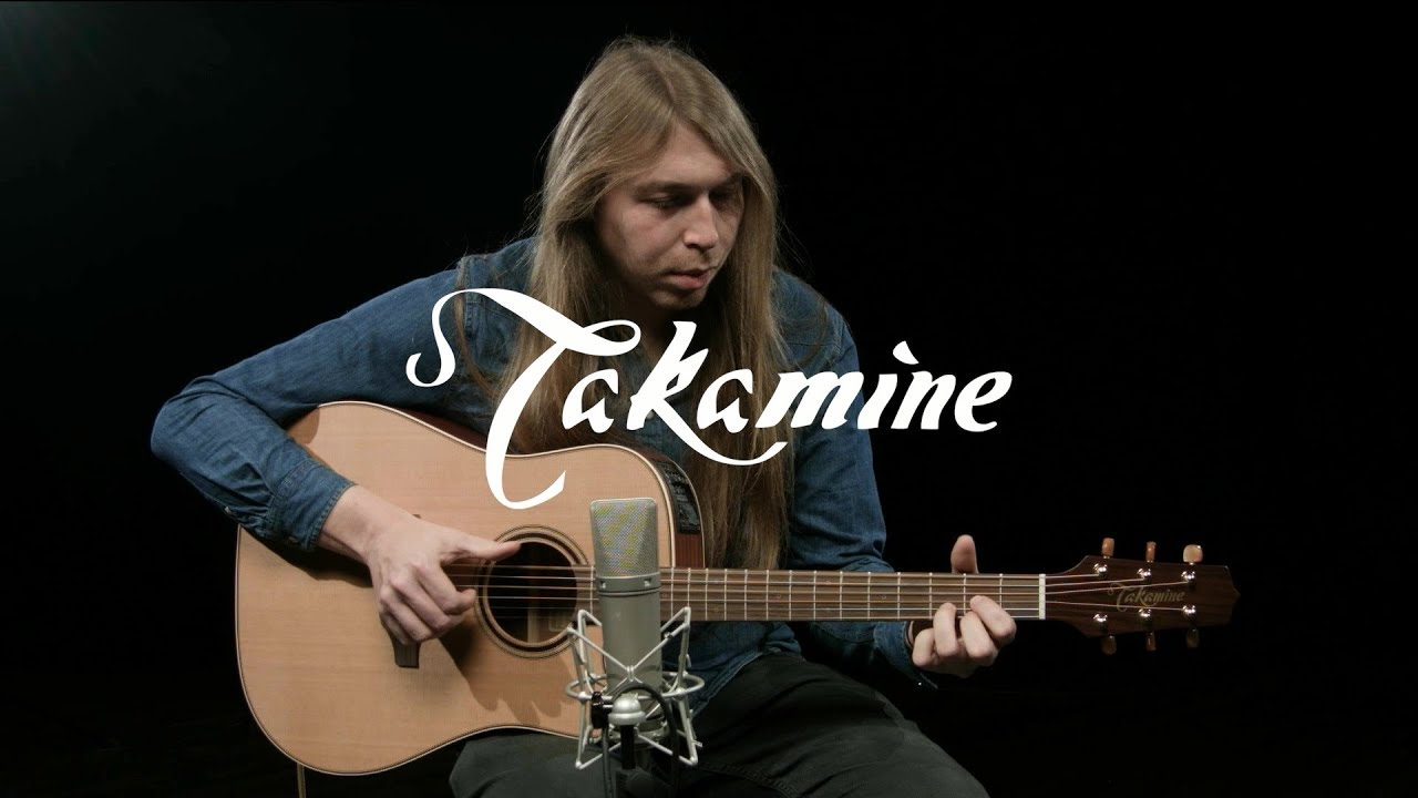 Takamine P3DC Dreadnought Electro Acoustic, Natural | Gear4music demo