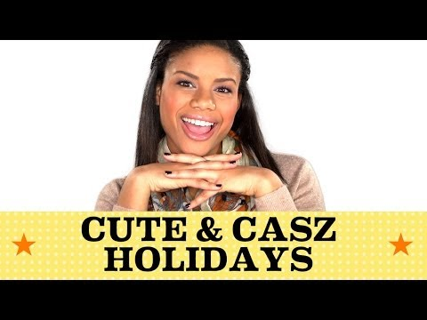 An Easy Peasy Holiday Look | Seventeen's Get Cute with Chloe