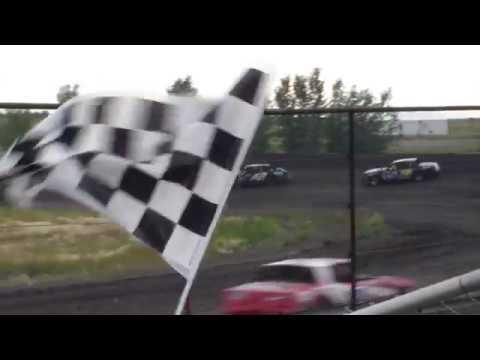 McLean County Speedway IMCA Hobby Stock Heats (7/29/18)