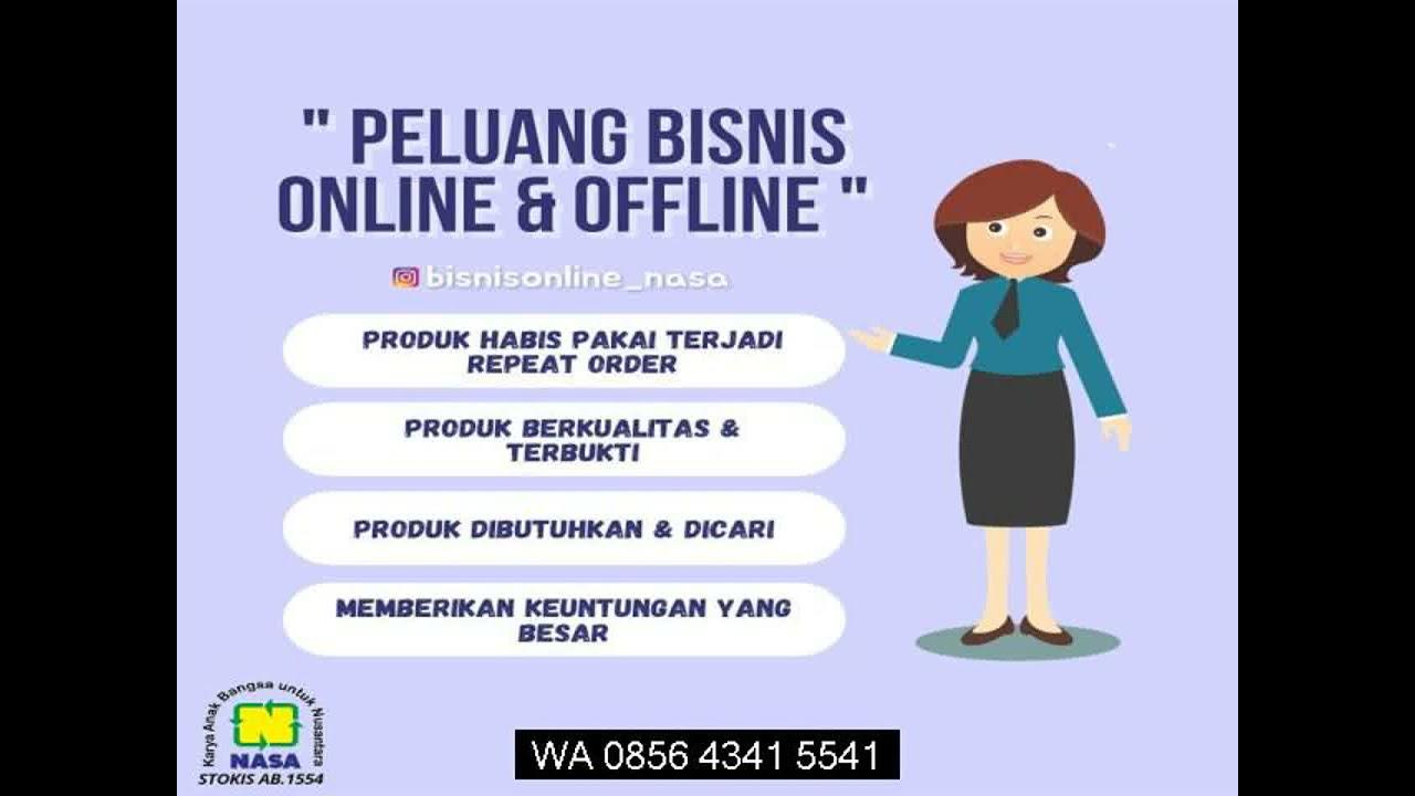 WA 0856 4341 5541 cara bisnis online luar negeri - YouTube