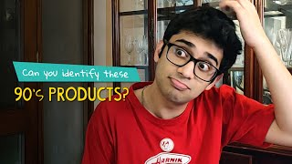 Can You Identify These 90's Products ?  | Ok Tested