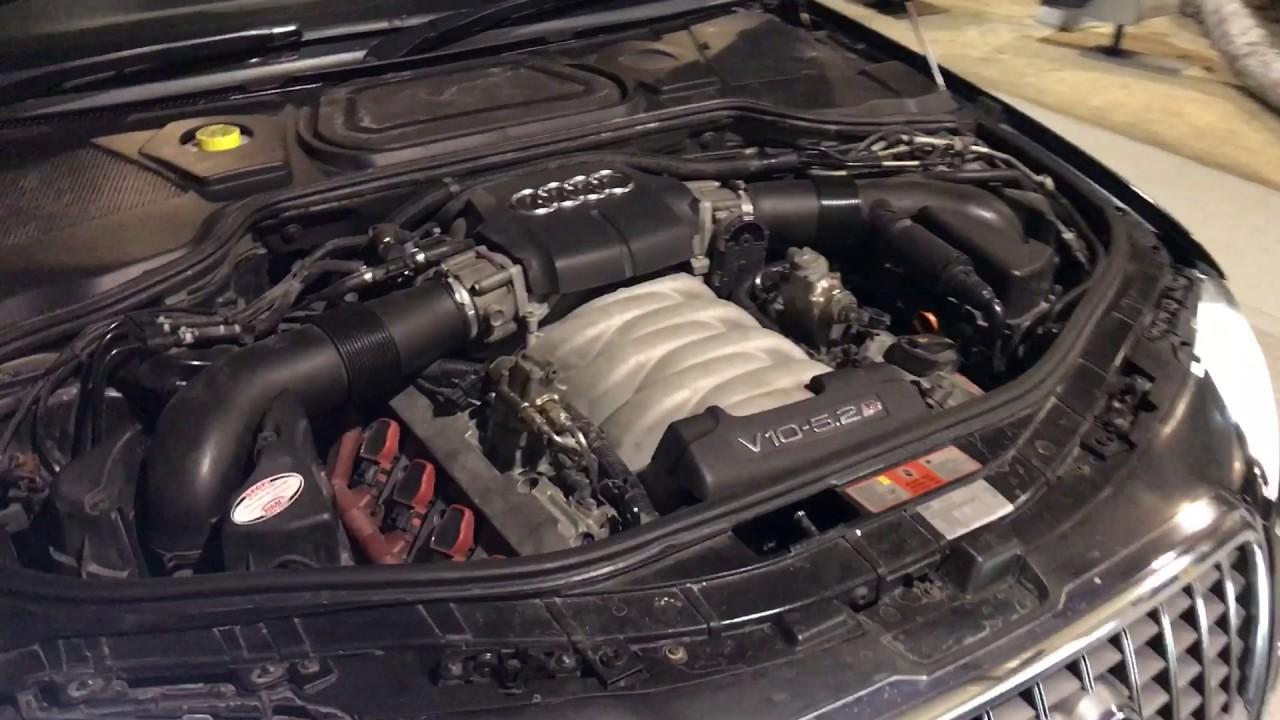 Audi A8 W12 Motor Lamborghini V1 0 Engine Diagram S8 With 5 2 V10 On Dyno You