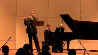 Sonata in D major-  Prokofiev Mvt 3  James Miller, Flute  Richard Auvil, Piano