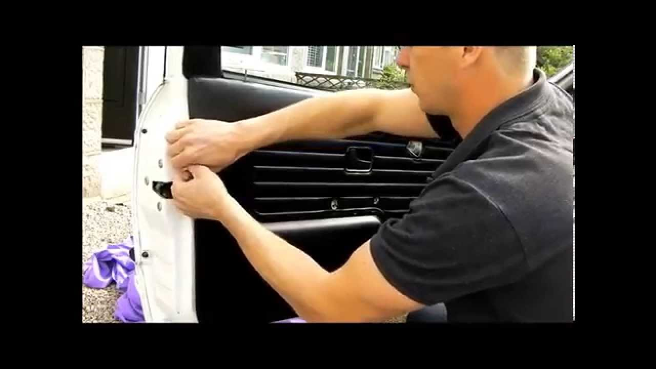 bmw e30 fix window blowing fuse door card removal
