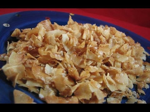 Atkins Diet Recipes: How to Toast Coconut (E-IF) - YouTube
