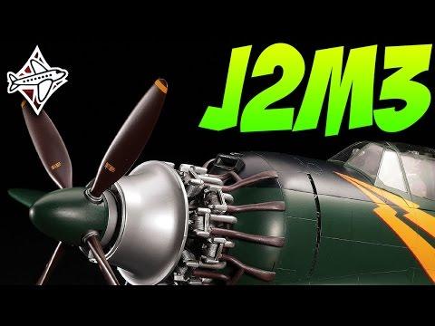 War Thunder - J2M3 - NEW PLANE - PREVIEW