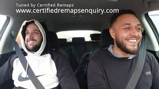 Mk2 Leon Fr Stage 2 Tuned By Certified Remaps - Customer Reaction Video
