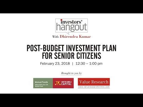 Episode 60: Post Budget investment plan for senior citizens