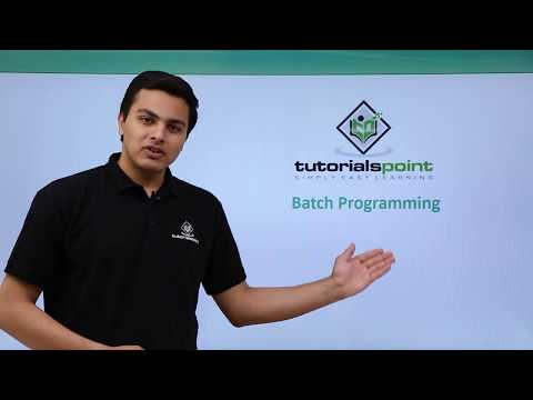 Ethical Hacking - Batch Programming