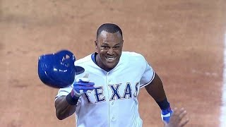 Beltre hammers walk-off home run in 9th