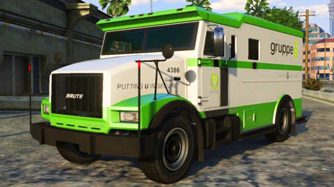 how to rob a money truck on gta