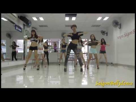 Don't Cha - The Pussycat Dolls ft Busta Rhymes Sexy dance 2 Mr. Long SaigonBellydance