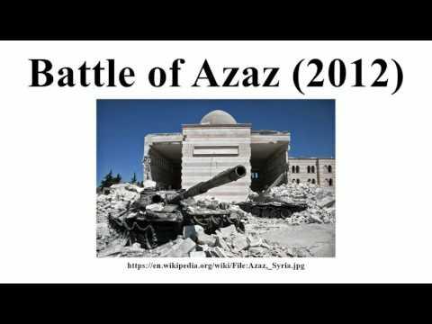 Battle of Azaz (2012)