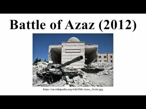 Battle of Azaz (2012)