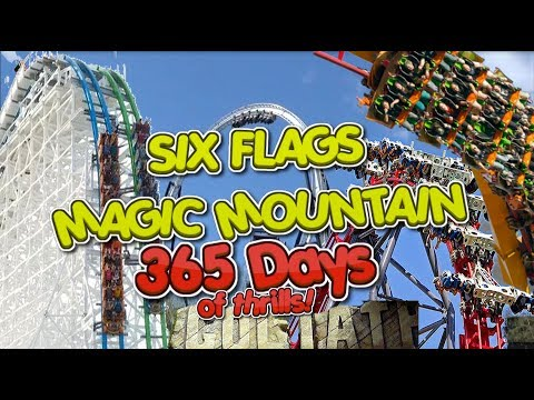 Magic Mountain 365 Days of Thrills Full Review