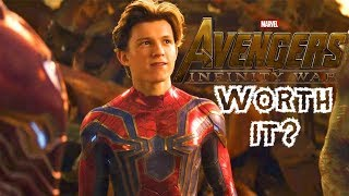 Was Avengers: Infinity War Worth It? Full Movie Review (Non-Spoilers & Spoilers)!!!