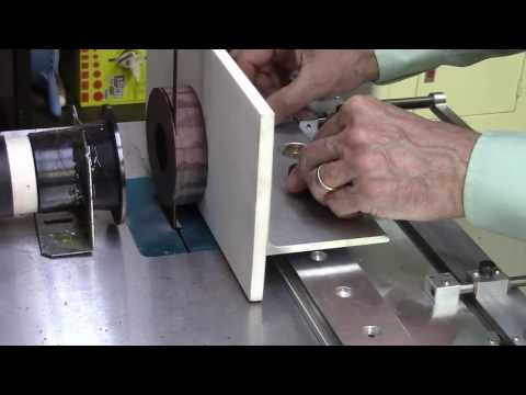 Accu-Slice® - Cut Thin Wood Slices with Bandsaw