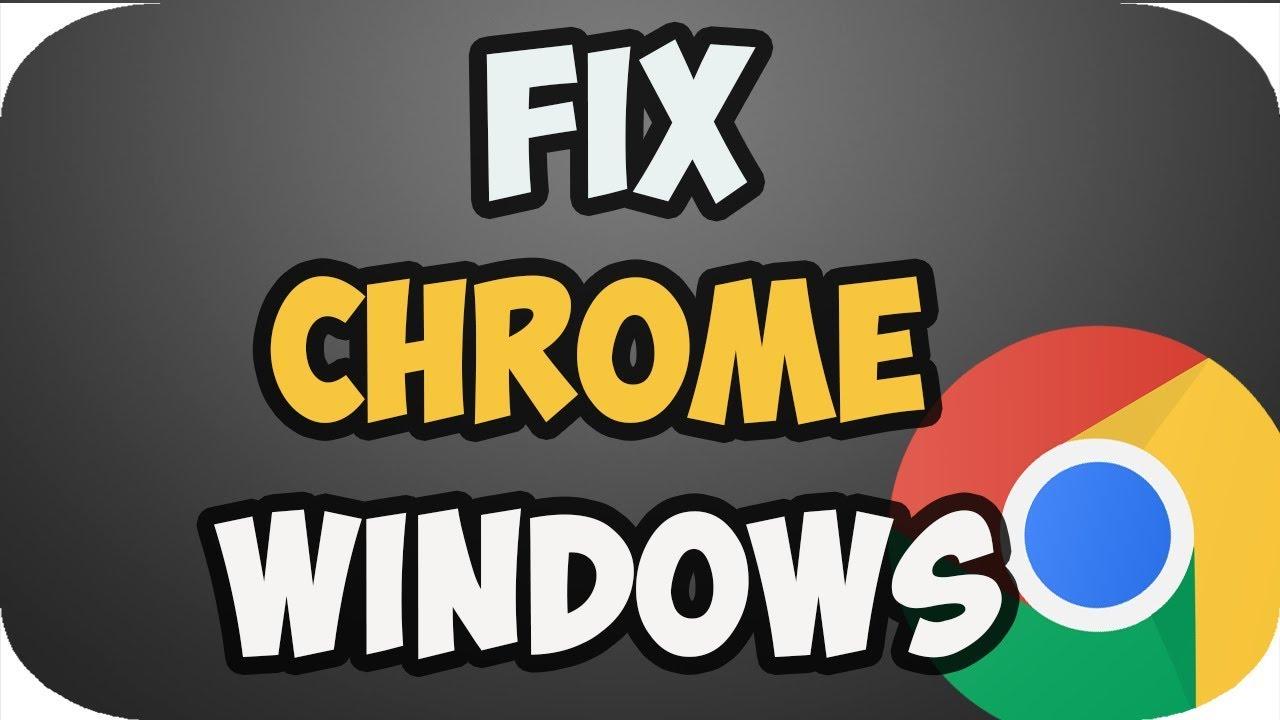 How to fix google chrome not working windows 10 2019