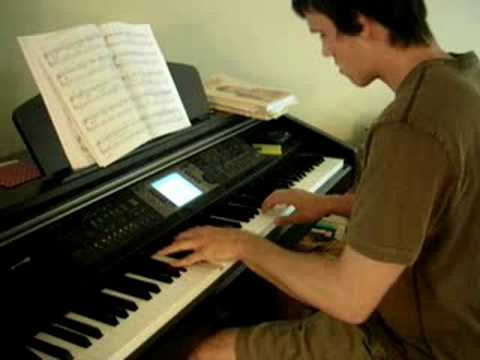 Monk TV theme on Piano by Casey Thayer