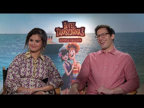 Selena Gomez & Andy Samberg Go On A Monster Cruise   HOTEL TRANSYLVANIA 3