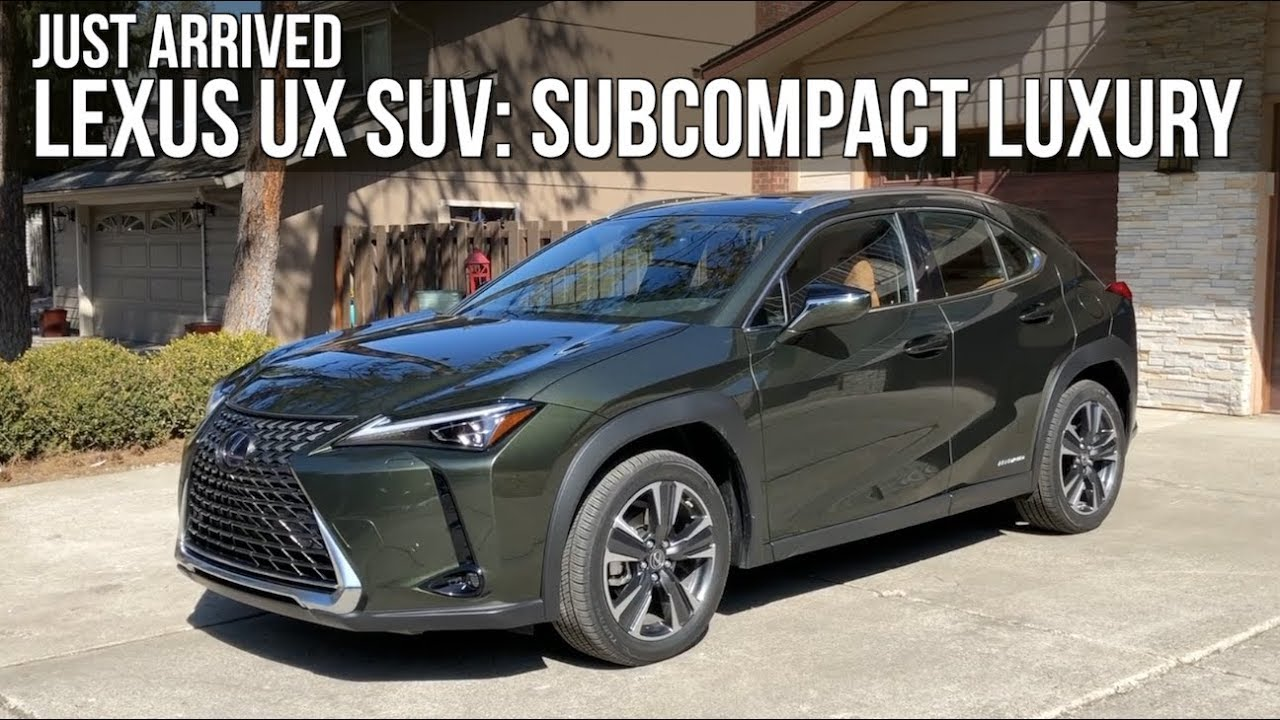 New Lexus Suv >> Just Arrived All New 2019 Lexus Ux Suv On Everyman Driver Youtube