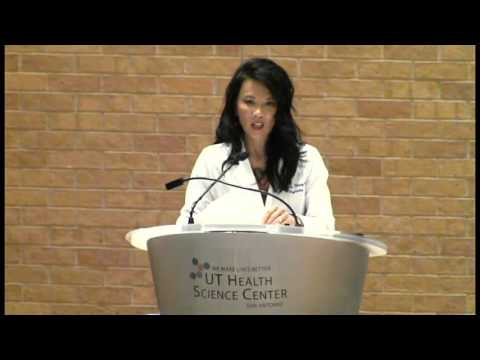 Dr. Chiufang Hwang Speaks to the Class of 2019 UT San Antonio School of Medicine.