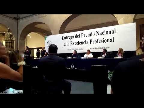 Premio Nacional Excelencia Profesional 2da edición 2017