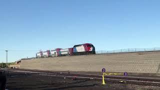 UTA HD 60fps: FrontRunner Trains On The Ogden Ramp (5/9/19)