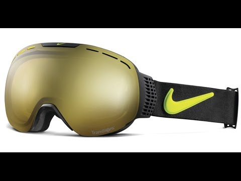 transition ski goggles  Nike Command Goggles w Premium Transitions Adaptive Lens - YouTube