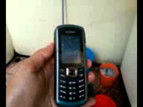 Samsung B2710 Xcover (water test).mp4