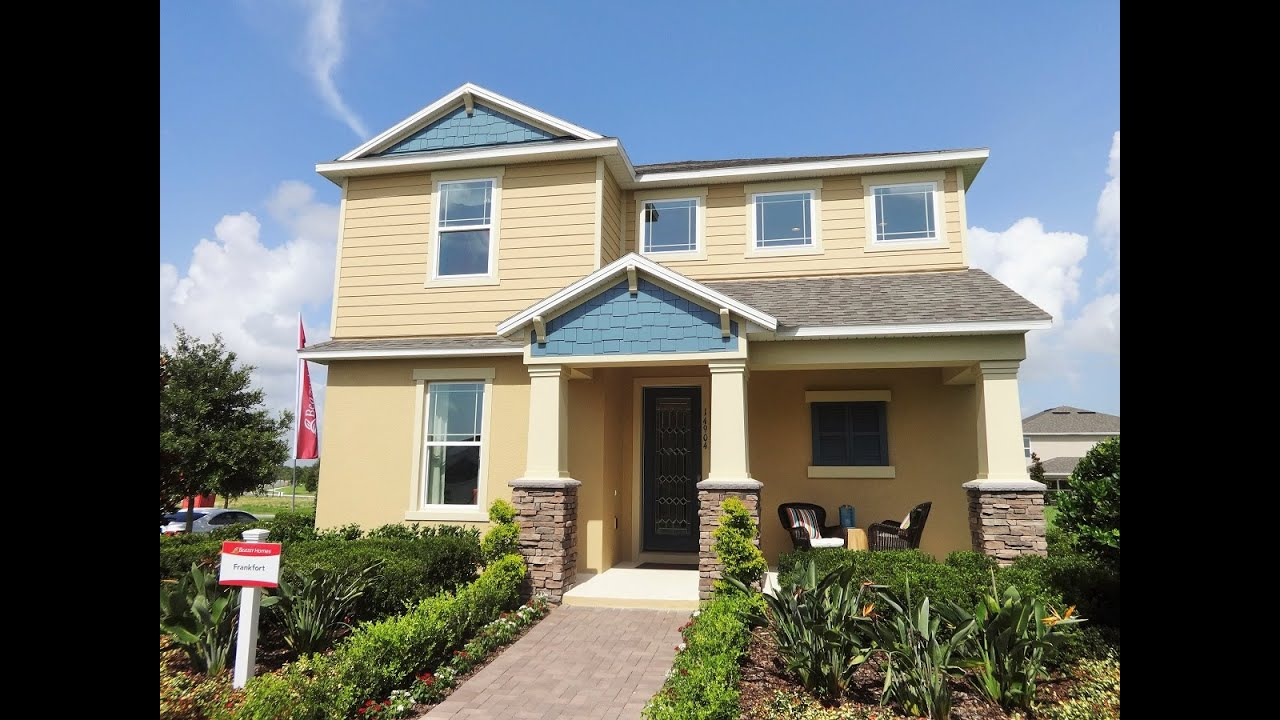 summerlake by beazer homes in winter garden frankfort model