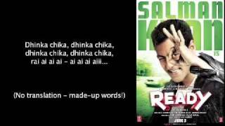 Ready - Dhinka Chika English lyrics translation