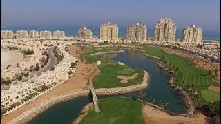 NIGHT GOLF VLOG | Al Hamra Golf Club | Part 1