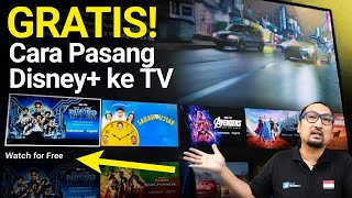 Tips Pasang Disney+ di Smart TV Android: Bisa Nonton Gratis!