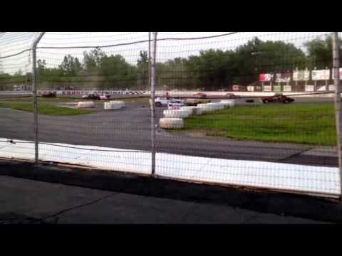 The knights of destruction tour of destruction Live at lake county speedway