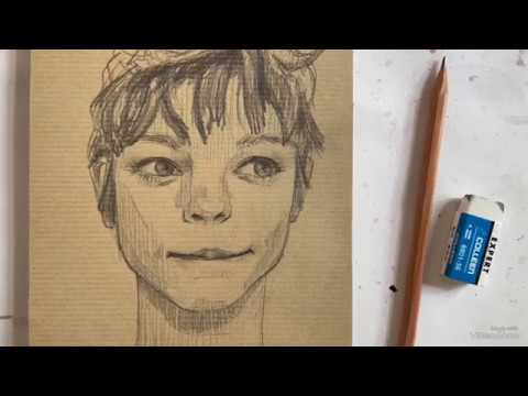Sketch | Hướng dẫn cách phác họa chân dung thumbnail