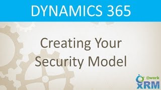 DYNAMICS 365: Creating your Security Model