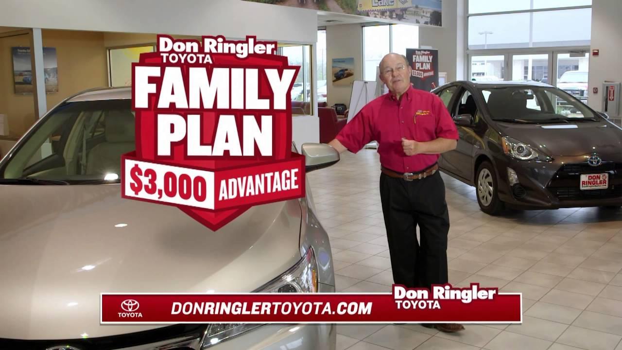 Don Ringler Toyota Family Plan