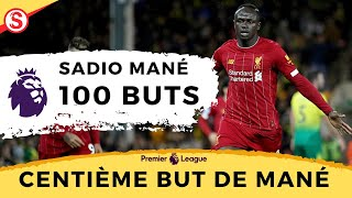 Norwich 0-1 Liverpool le 100e but de Sadio Man dans le football anglais  Sengoaller