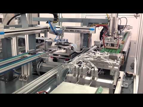 Midsummer CIGS Thin film solar module line manufacturing - Video 2